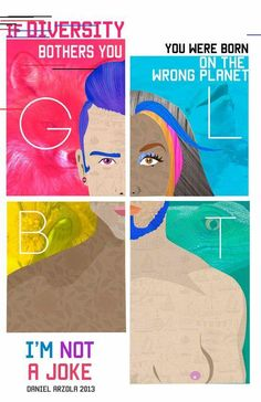 Art series breaks LGBTQ stereotypes with striking illustrations Art series breaks LGBTQ stereotypes with striking illustrations