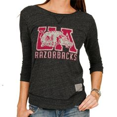 Arkansas Razorbacks Women's Scoop Back Tee