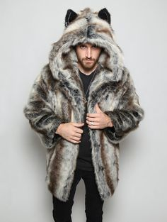 **ORDERS PLACED ON 12/9/16 & AFTER SHIP BY 12/31/16** USE DISCOUNT CODE COAT2O FOR $20 OFF YOUR COAT PREORDER! LOYAL - SOCIAL - TEACHER The wolf is a social animal and a great communicator, often teac