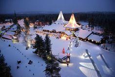 amazing Santa Claus Village