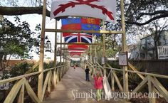 All these flags have flown over St. Augustine in it's 500 years.  Visit the Colonial Quarter