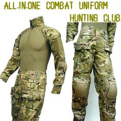 Modern Multicam combat uniform.  The original Crye Precision set averaged about $300 USD.