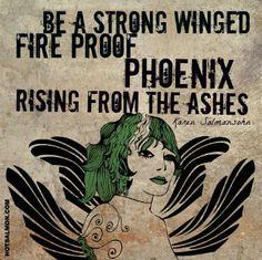 Phoenix Winged - Karen Salmansohn