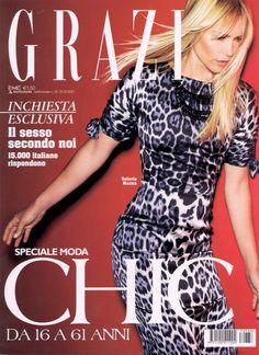 GRAZIA Italy, September 2007 Photo: Roberto D'este Model: Valeria Mazza
