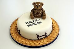 Colossal Cake Sale - Bake a cake for a hero | Help for Heroes | #H4H #colossalcakesale
