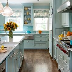 Beautiful Eclectic Home Decor with Turquoise Color via @decorextra