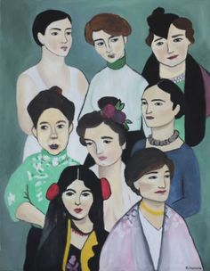 "Saatchi Art Artist Rocio Navarro; Painting, ""Comunidad #2"" #art"
