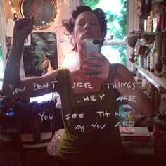 you don't see things as they are you see things as you are - quite the truth. Dresden Dolls, Wear You Down, Amanda Palmer, True Beauty, Breakup, Girly, Take That, T Shirts For Women, My Love