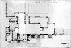 Mies Van Der Rohe_Lange House_Plan 1927-30