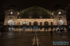Bahnhof #Basel SBB. Christmas Destinations, Christmas Travel, Switzerland, Places Ive Been, Louvre, Europe, Building, Beautiful, Beautiful Places