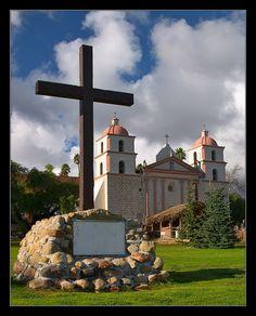 Santa Barbara Mission, Santa Barbara, CA Copyright: Donald Griesdale