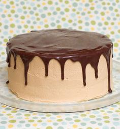 Sugar & Spice by Celeste: Fudgy Chocolate Peanut Butter Cake...Sinfully Delicious!