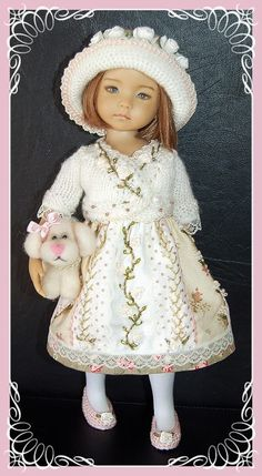 """Outfit for EFFNER LITTLE DARLING DOLL 13 """""""