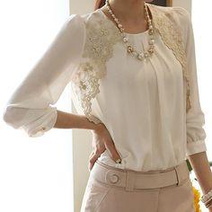 ==> consumer reviewsWomen's Fashion Korean Style Summer Chiffon Lace Casual Blouse Shirt smt102Women's Fashion Korean Style Summer Chiffon Lace Casual Blouse Shirt smt102Cheap...Cleck Hot Deals >>> http://id047596312.cloudns.pointto.us/32706060399.html images