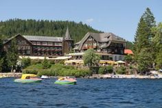 This historic, 4-star hotel is beside Lake Titisee in the Black Forest.