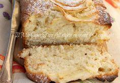 Plumcake-sofficissimo-mele-ricetta il mio saper fare