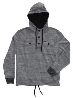 RVCA Mens : Hoodies / Fleece - Scallywag Pullover