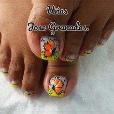 Vestidos, Toe Nail Art, Polish Nails, Stiletto Nails, Short Nail Manicure