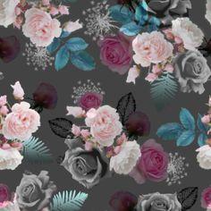 Irms pattern Roses on Motiflow Web Own Website, Pattern Design, Print Patterns, Floral Wreath, Roses, Flowers, Artwork, Prints, Floral Crown