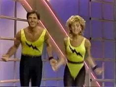 National Aerobic Championship USA 1986. This actually happened! Lmao