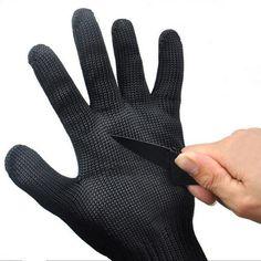 Knife Cut Resistant Gloves.