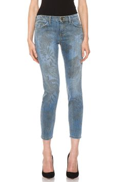 Loving these cute C/E jeans & they are on sale! Current/Elliott The Stiletto in Denim Jungle