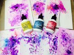 ▶ Altenew Stamp and Ken Oliver Color Bursts Tupelo Designs LLC - YouTube