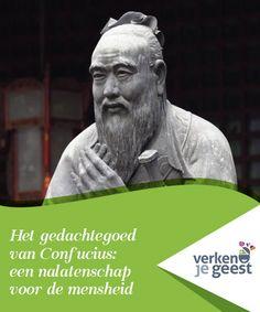 Het gedachtegoed van Confucius: een nalatenschap voor de mensheid   Confucius leefde in een tijdperk waarin er oorlog en #verwarring heerste. Hij bleef echter zoeken naar een manier om #moeilijkheden te #overwinnen met kennis.  #Opvallend