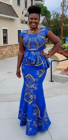 Classy picture collection of Beautiful Ankara Skirt And Blouse Styles These are the most beautiful ankara skirt and blouse trending at the moment. If you must rock anything ankara skirt and blouse styles and design. African Fashion Ankara, African Inspired Fashion, African Print Fashion, Africa Fashion, Fashion Prints, Ghanaian Fashion, African Dresses For Women, African Print Dresses, African Attire