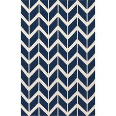 Jill Rosenwald Rugs Fallon Sapphire Blue Area Rug & Reviews | Wayfair
