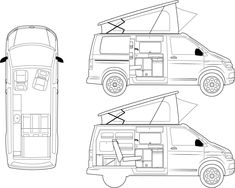 Van Conversion Shower, Car Camper, Offroad, Vw T, 4x4, Adventure, Landing Gear, Interior Trim, Vehicles