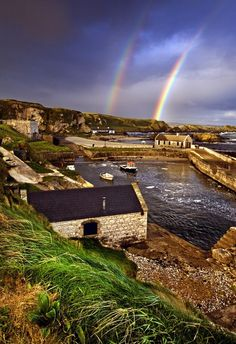 Ballintoy Harbor, Northern Ireland