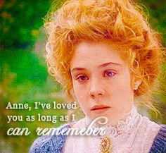 """I don't want anything to change. I'll always be here for you Gil."" ~Anne"