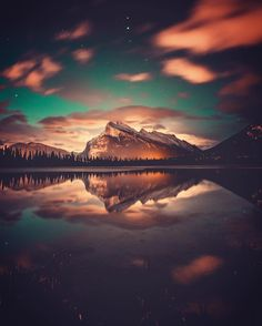 Vermilion lakes, Banff National Park, Alberta