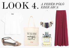 A fehér póló 6 arca / Shopping. Minden, Polyvore, Shopping, Style, Fashion, Moda, Fashion Styles, Fashion Illustrations, Stylus