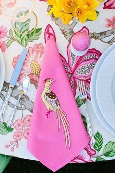 Beautiful Easter Table - Timothy Corrigan