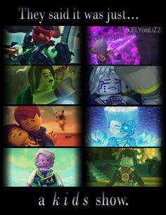 """They said it was just a Kids show"" I edited this by myself, if you use it please give credits :) ♥ #Ninjago"