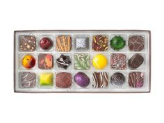 Christopher Elbow Artisan Chocolates -- 21-piece assortment elbowchocolates.com