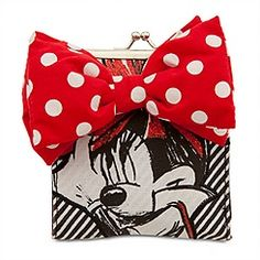Diva Minnie Mouse Wallet with Coin Purse