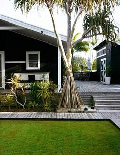 Timber deck colour