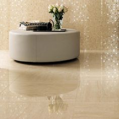 Beige Travertine Porcelain Tiles are the best solution for a classic beautiful marble look. Evolution-Marvel is available matt and polished and in big sizes Floor Design, Tile Design, Italian Marble Flooring, Marble Look Tile, Travertine Floors, Tile Suppliers, House Tiles, Pooja Rooms, Living Room Flooring