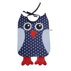 an owl bib! Diy Gifts For Kids, Diy Crafts For Gifts, Sewing For Kids, Baby Sewing, Diy Projects To Try, Sewing Projects, Owl Crafts, Inspirational Gifts, Burp Cloths