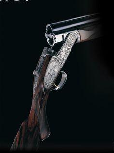 """... handmade Purdey Over  Under shotgun."" -- Ch. 1 of Eat What You Kill"