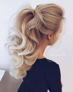 Beige Blonde, Pompadour, Undercut, Cut And Style, Hair Cuts, Vogue, Hairstyle, Long Hair Styles, Beauty