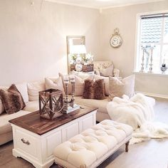 Love Everything About This Cozy Living Room Livingroom Cocooning Homesweethome