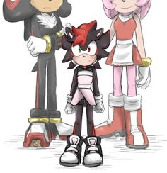 Shadow And Maria, Shadow And Amy, Shadow The Hedgehog, Sonic The Hedgehog, Shadamy Comics, Sonic The Movie, Kamen Rider Decade, Sonic Heroes, Sonic And Amy