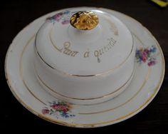 Ana Caldatto : Altered Alice: A melhor manteiga! -  antiga Mantegueira de louça Porcelana Mauá /  40 ou 50s: