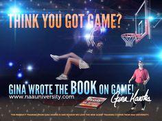 "Gina Hawks ""Got Game"" Poster"