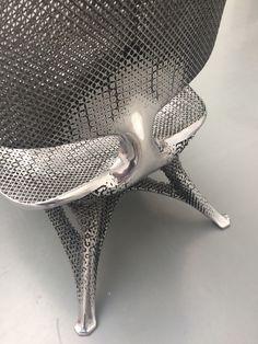 Detail of Microstructures chair by Joris Laarman