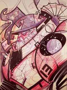 Space Marine Wizard  by *frogbillgo